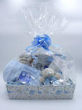 Personalised Baby Boy Gift Set - Deluxe